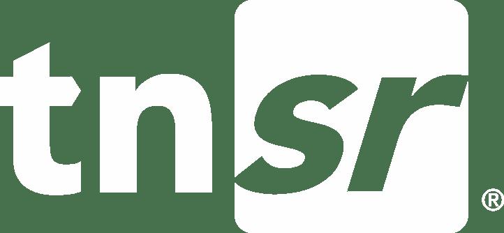 TNSR logo White