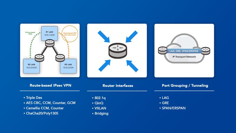 Web page - VPN Capabilities