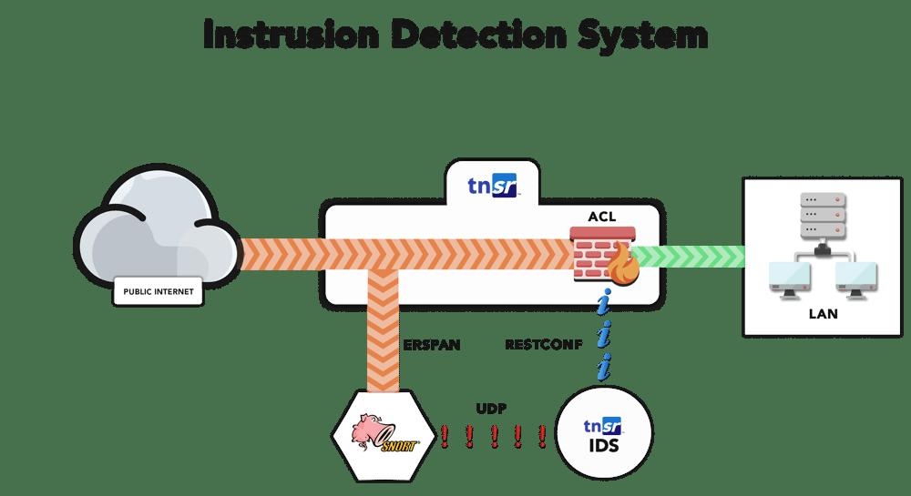 TNSR IDS map