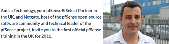 pfSense Partner Interview: Amica Technology