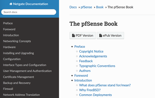 The pfSense Book is now available to everyone