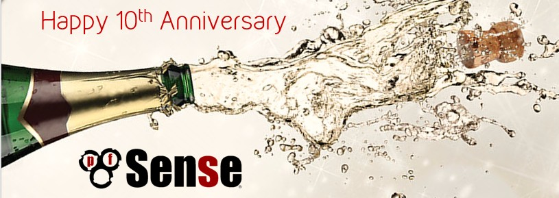 Happy 10th Anniversary to pfSense® Open Source Software