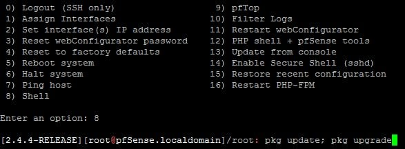 Update pfSense® packages to protect against NGINX, libzmq4, and curl vulnerabilities